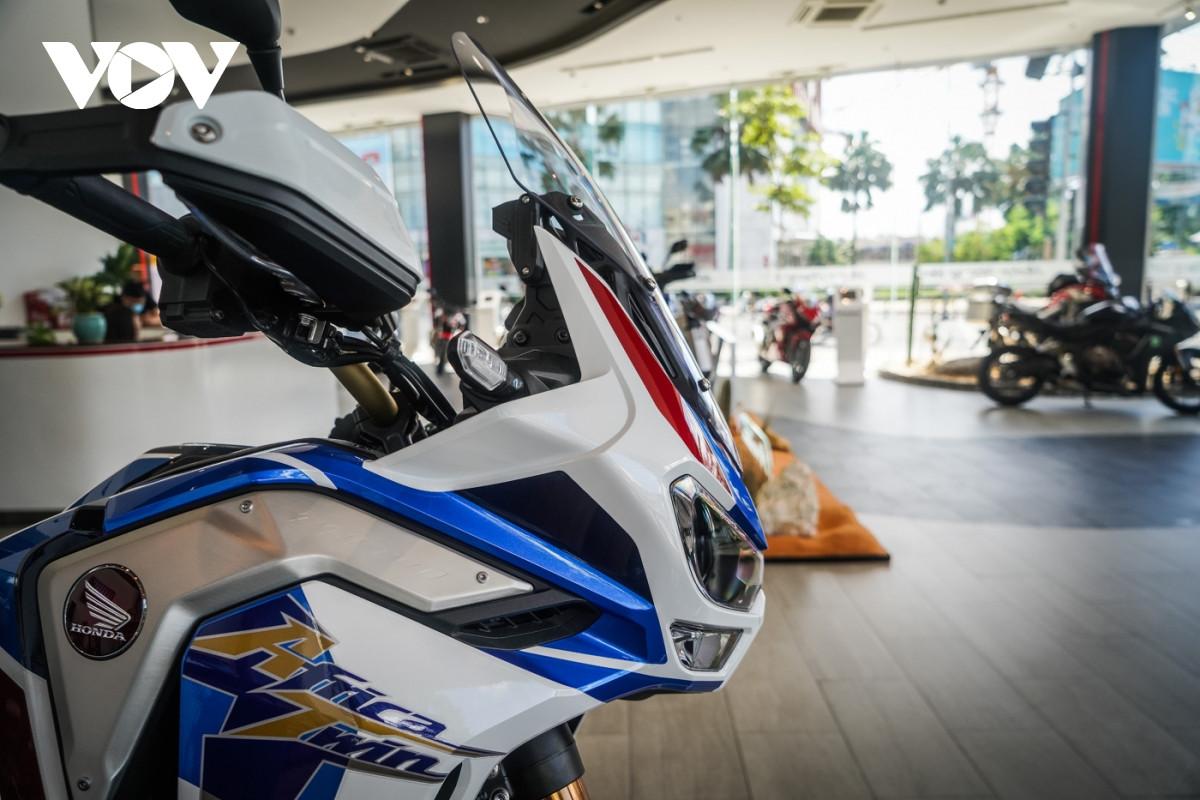 Cận cảnh Honda Africa Twin Adventure Sport giá gần 700 triệu đồng-4