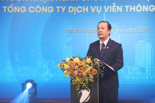VNPT VinaPhone don nhan Huan chuong Lao dong hang Nhat hinh anh 2