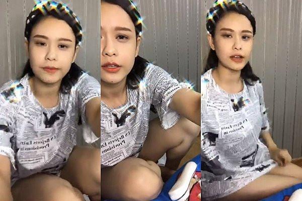 sao Việt bị lộ nội y khi livestream 1