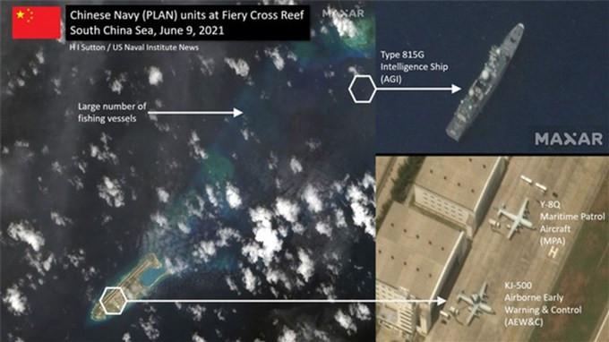 Việt Nam lên tiếng việc máy bay và tàu trinh sát Trung Quốc xuất hiện ở Đá Chữ Thập
