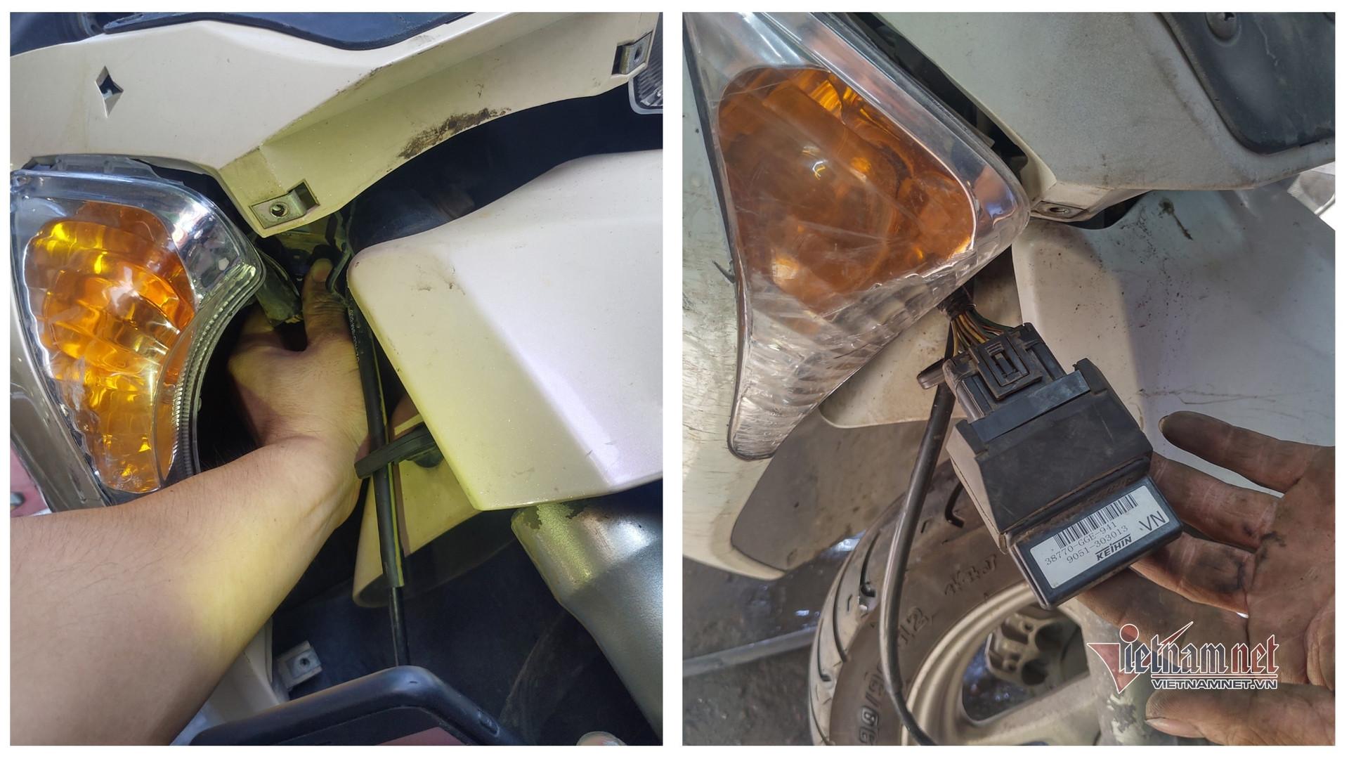 Đầu mùa bóng đá, rộ nạn mất trộm IC xe máy Honda-3