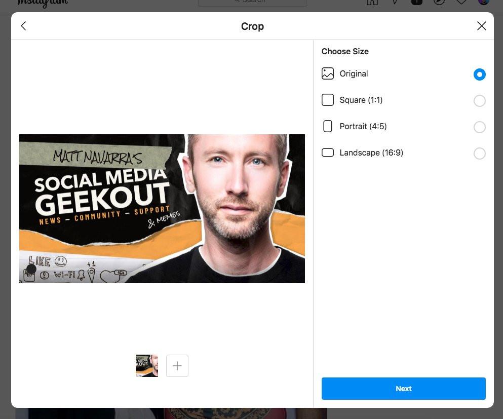 Cách tạo bài viết Instagram mới trên PC và Mac-4
