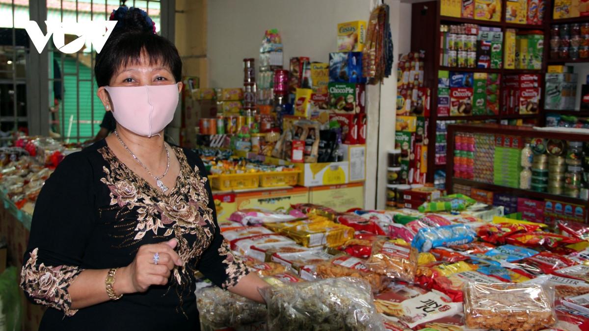 Bán hàng online giúp tiểu thương chợ truyền thống ổn định trongdịch bệnh-1