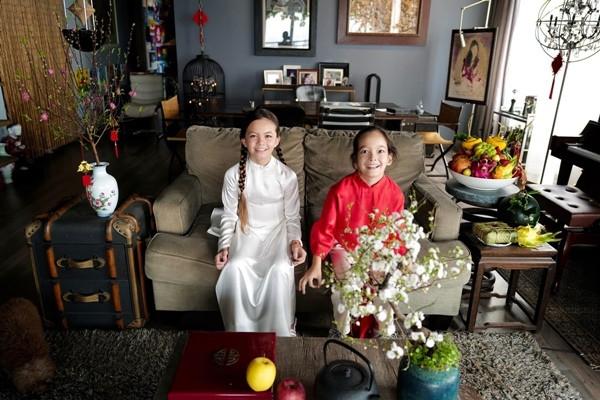 Căn hộ cổ điển, sang trọng của 3 mẹ con diva Hồng Nhung-2