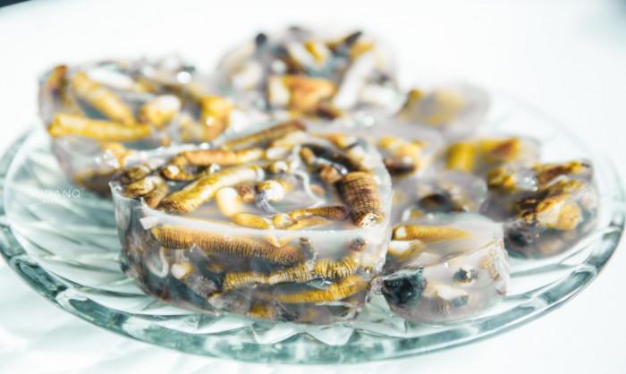 Thạch giun biển, món ăn trông đáng sợ nhưng thử một lần lại dễ nghiện-2