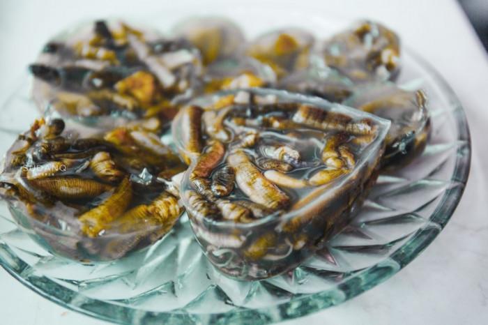 Thạch giun biển, món ăn trông đáng sợ nhưng thử một lần lại dễ nghiện-8