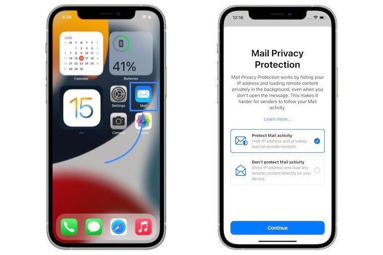 Cách ẩn IP và chặn người khác theo dõi hoạt động email trên iOS 15-2