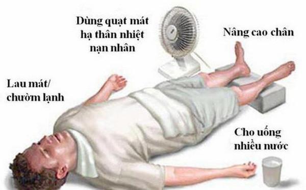 Sốc nhiệt do nắng nóng: Coi chừng đột tử-1