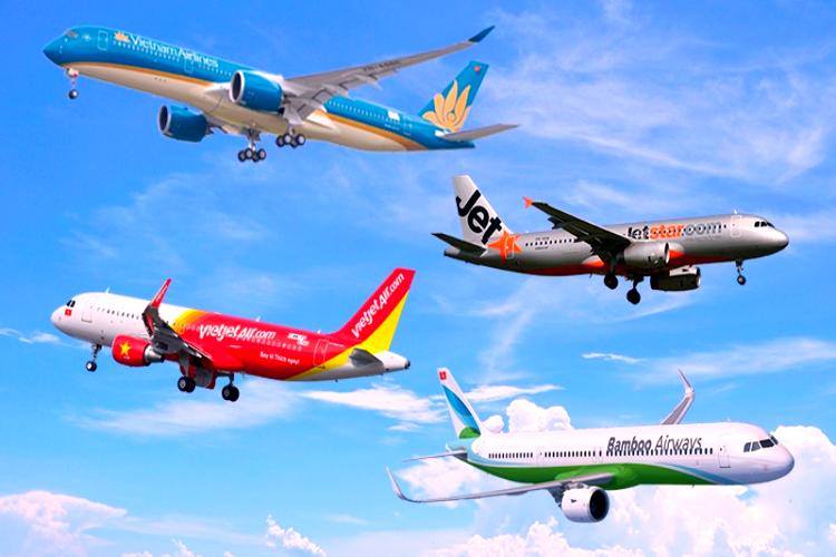 Hàng không thăng trầm vì COVID-19, hy vọng bay quốc tế vào cuối năm 2021 - 1