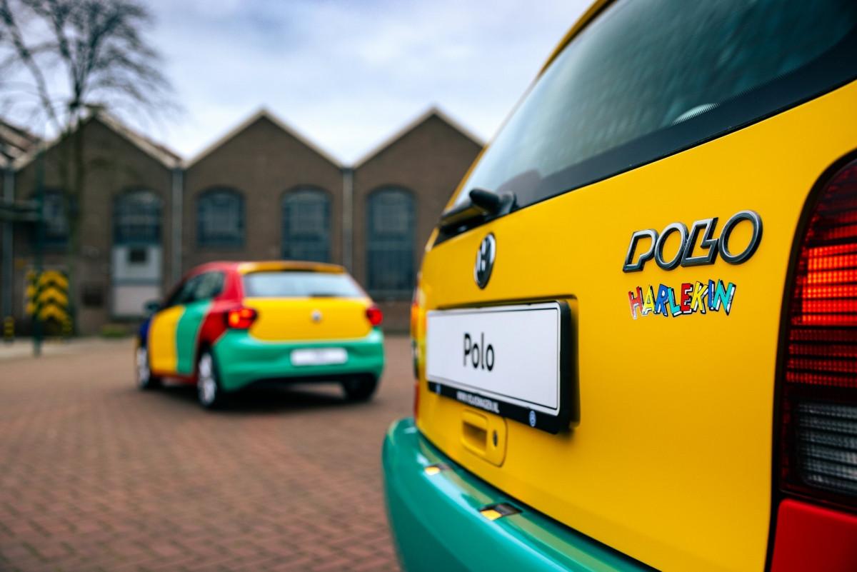 Volkswagen Polo xuất hiện với bộ áo Harlequin đầy sắc màu-11