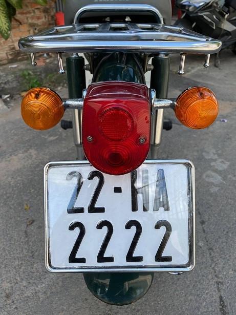 Dàn xe Honda Cub biển tứ quý cực hiếm của dân chơi Sài Gòn-3