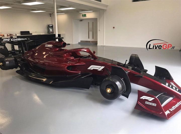Rỏ rỉ hình ảnh xe đua F1 năm 2022-1