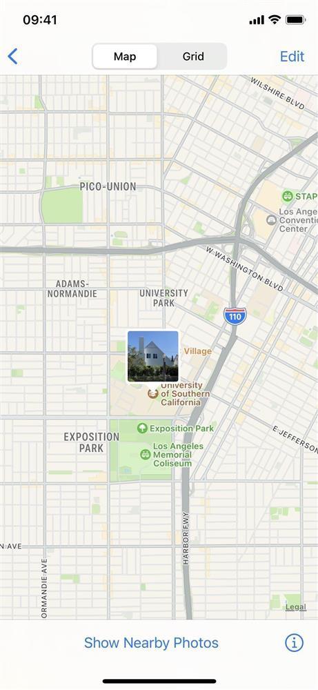 Cách thay đổi vị trí và ngày/giờ của hình ảnh trên iOS 15-8