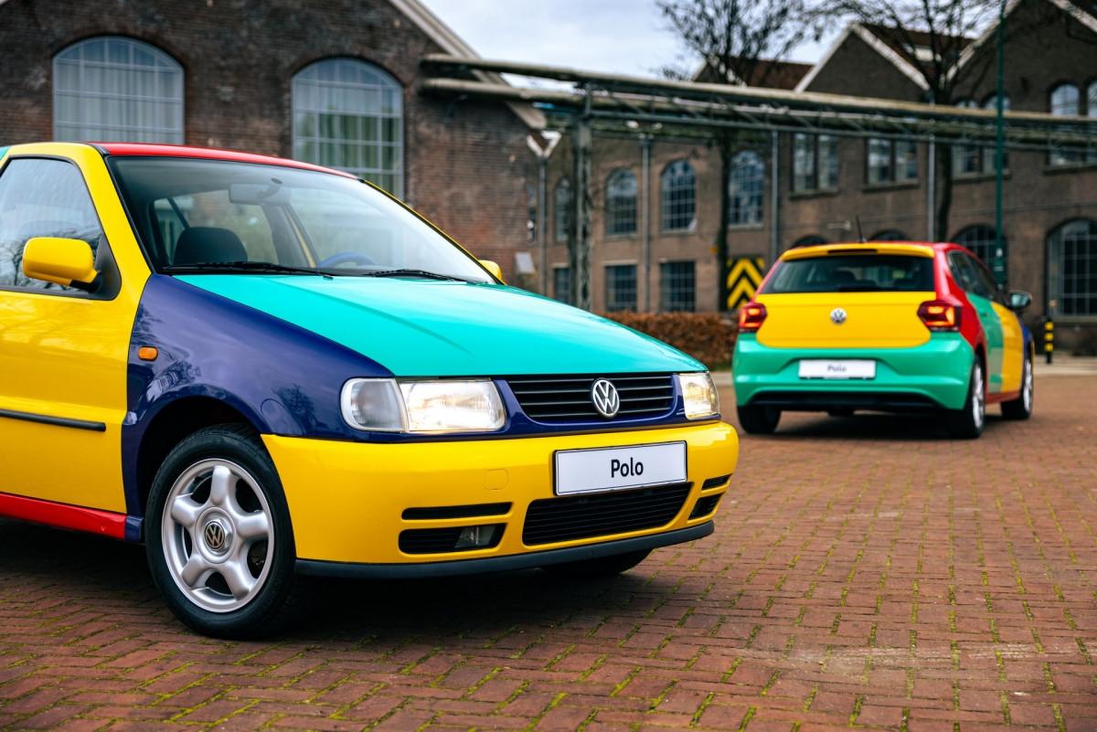 Volkswagen Polo xuất hiện với bộ áo Harlequin đầy sắc màu-9