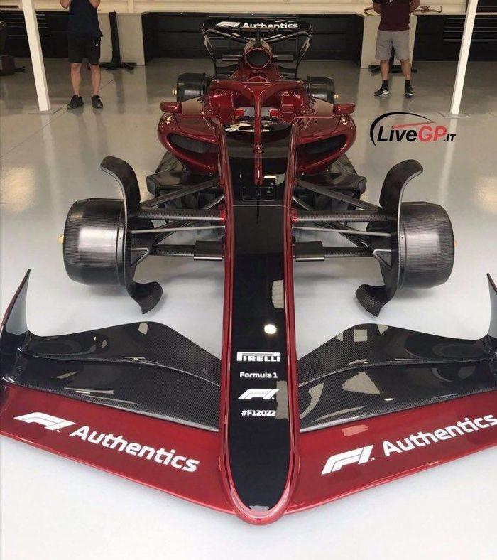 Rỏ rỉ hình ảnh xe đua F1 năm 2022-3
