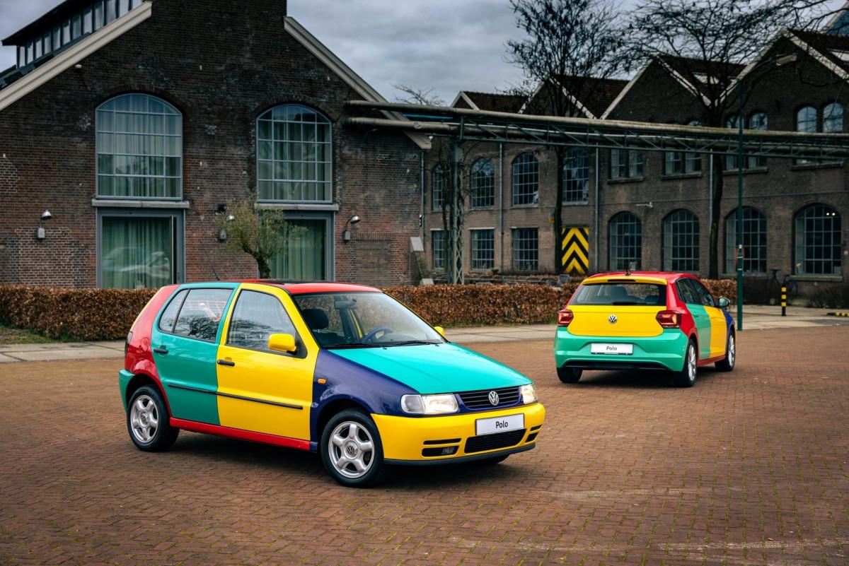 Volkswagen Polo xuất hiện với bộ áo Harlequin đầy sắc màu-10