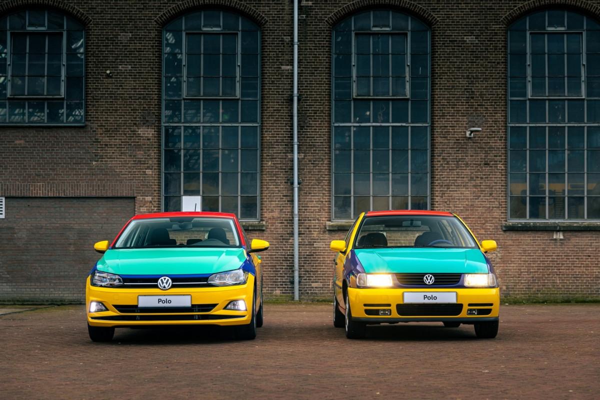 Volkswagen Polo xuất hiện với bộ áo Harlequin đầy sắc màu-12