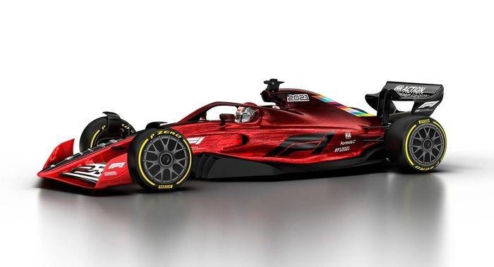 Rỏ rỉ hình ảnh xe đua F1 năm 2022-4
