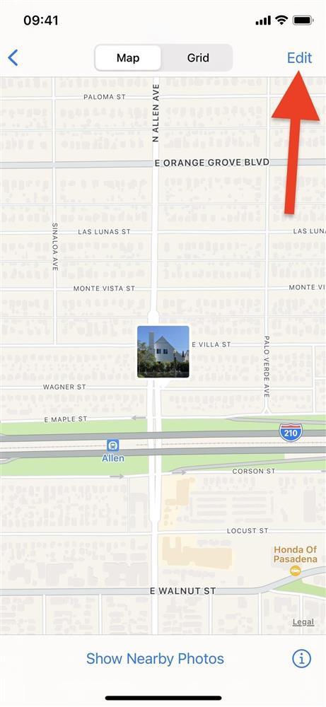 Cách thay đổi vị trí và ngày/giờ của hình ảnh trên iOS 15-5