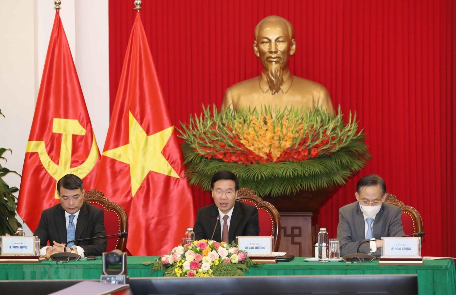 Viet Nam du Hoi nghi ban tron truc tuyen cac chinh dang Nga-ASEAN hinh anh 1