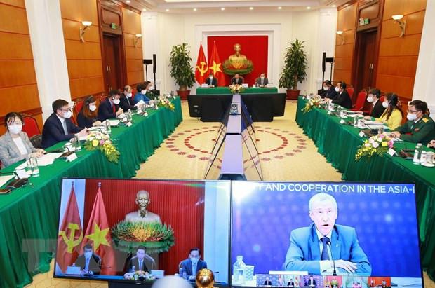 Viet Nam du Hoi nghi ban tron truc tuyen cac chinh dang Nga-ASEAN hinh anh 2