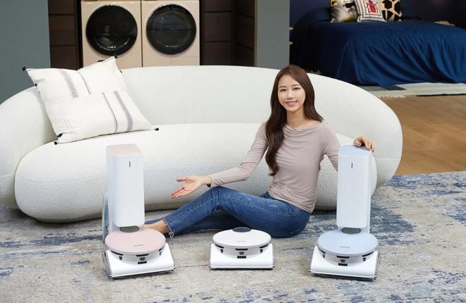 Robot hút bụi thế hệ mới của Samsung ứng dụng AI giúp nhận diện chướng ngại vật nguy hiểm để tránh - Ảnh 1.
