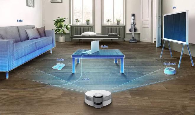 Robot hút bụi thế hệ mới của Samsung ứng dụng AI giúp nhận diện chướng ngại vật nguy hiểm để tránh - Ảnh 2.