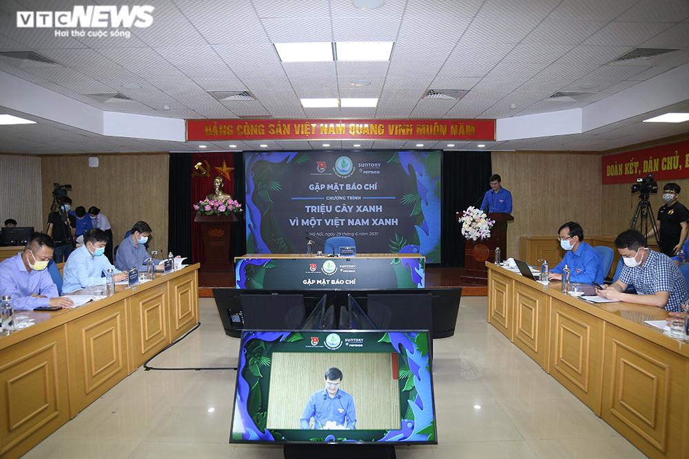 Trung ương Đoàn đặt mục tiêu trồng 1 triệu cây xanh cho rừng đầu nguồn - 1