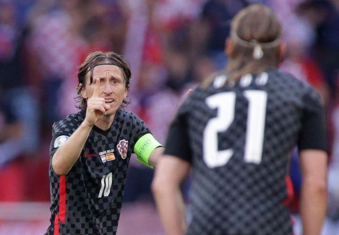 EURO 2020 ngày 29/6: Luka Modric nổi cáu với đồng đội, Pedri phá kỷ lục EURO - 1