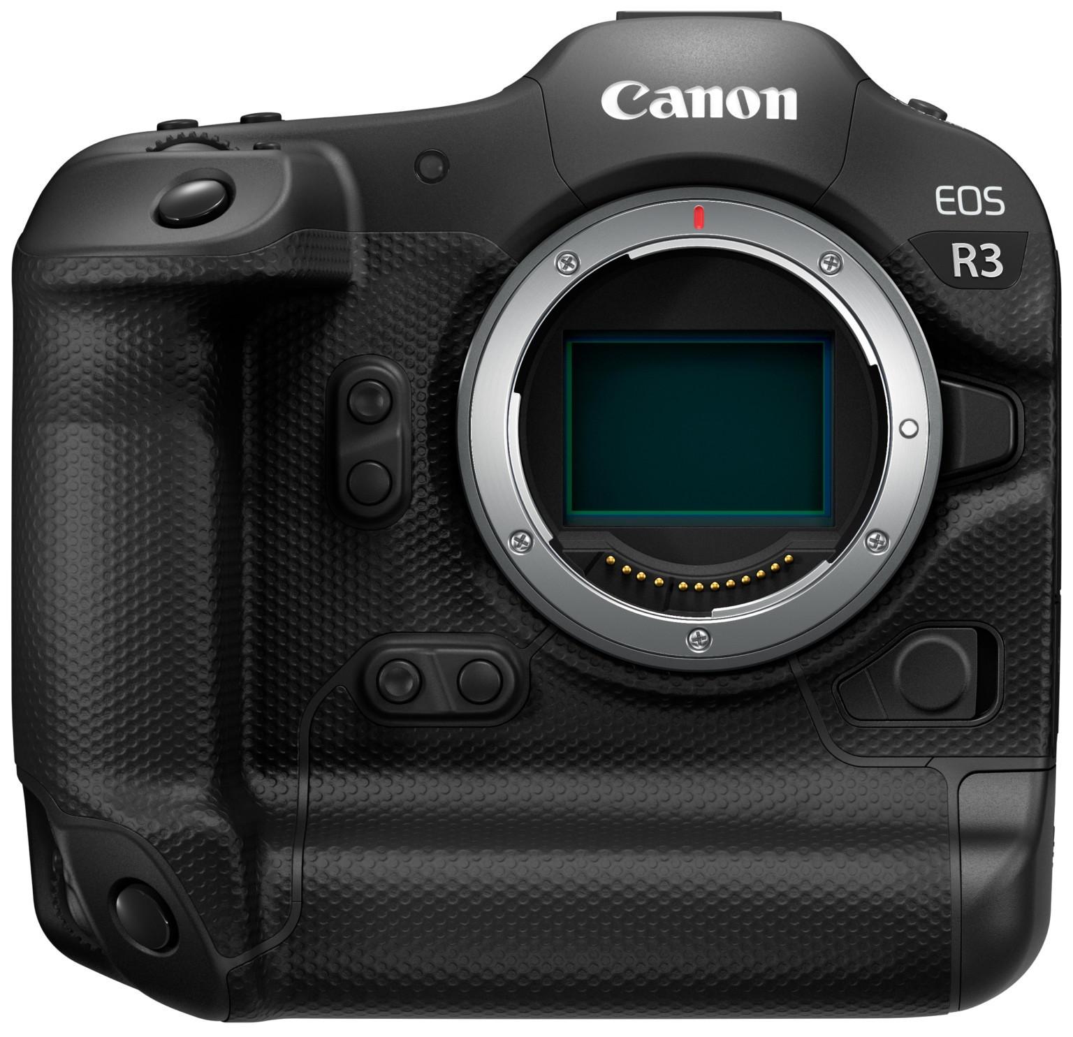 Canon EOS R3 có thể dùng cảm biến Sony thay vì tự sản xuất