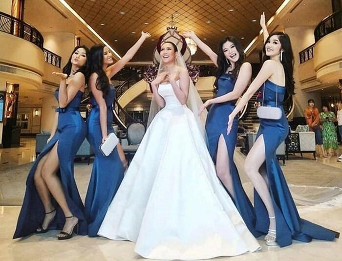 Khi các nàng hậu Việt làm phù dâu, cô dâu thấp thỏm vì sợ bị chiếm sóng-12