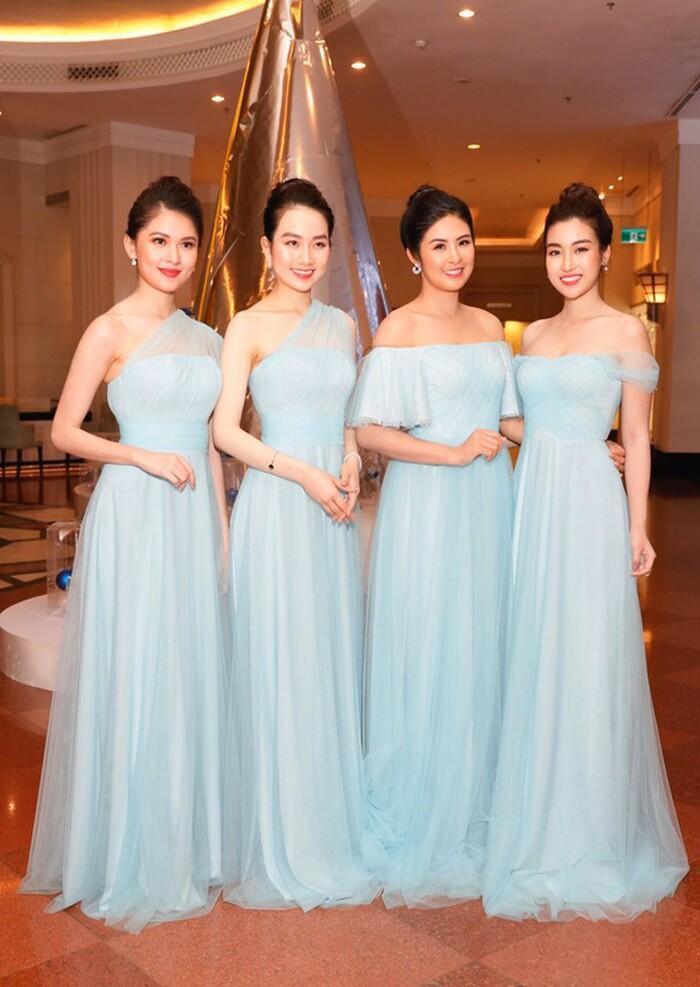 Khi các nàng hậu Việt làm phù dâu, cô dâu thấp thỏm vì sợ bị chiếm sóng-3