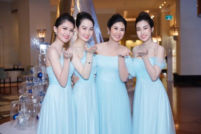 Khi các nàng hậu Việt làm phù dâu, cô dâu thấp thỏm vì sợ bị chiếm sóng-4