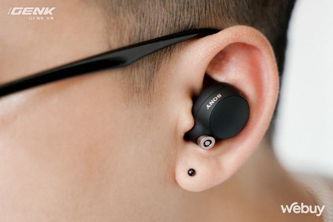 Trên tay Sony WF-1000XM4: Nhỏ gọn, pin trâu, chống ồn đỉnh chóp, giá 6.49 triệu - Ảnh 3.