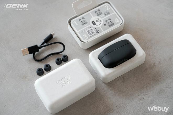 Trên tay Sony WF-1000XM4: Nhỏ gọn, pin trâu, chống ồn đỉnh chóp, giá 6.49 triệu - Ảnh 6.