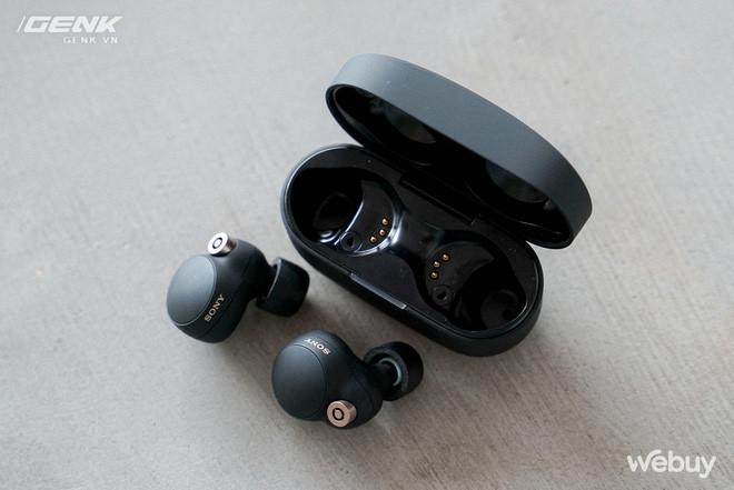 Trên tay Sony WF-1000XM4: Nhỏ gọn, pin trâu, chống ồn đỉnh chóp, giá 6.49 triệu - Ảnh 13.