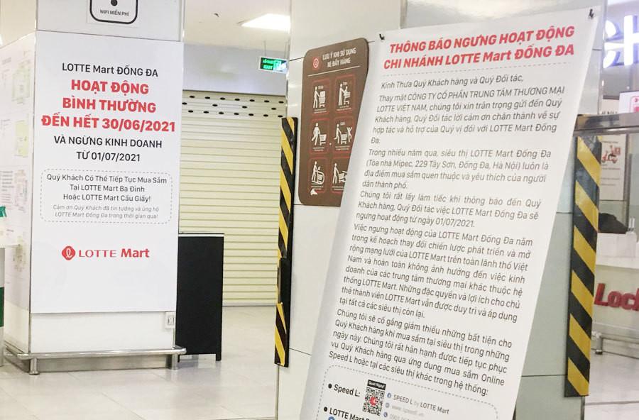 Hà Nội: Lotte Mart Đống Đa tan tác trước ngày đóng cửa - 1