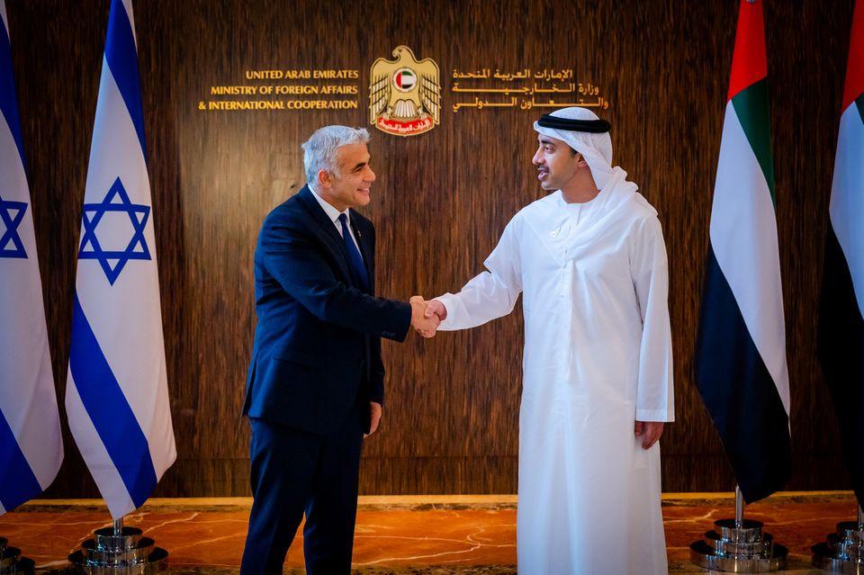 Israel khai truong Tong Lanh su quan tai thanh pho Dubai hinh anh 1