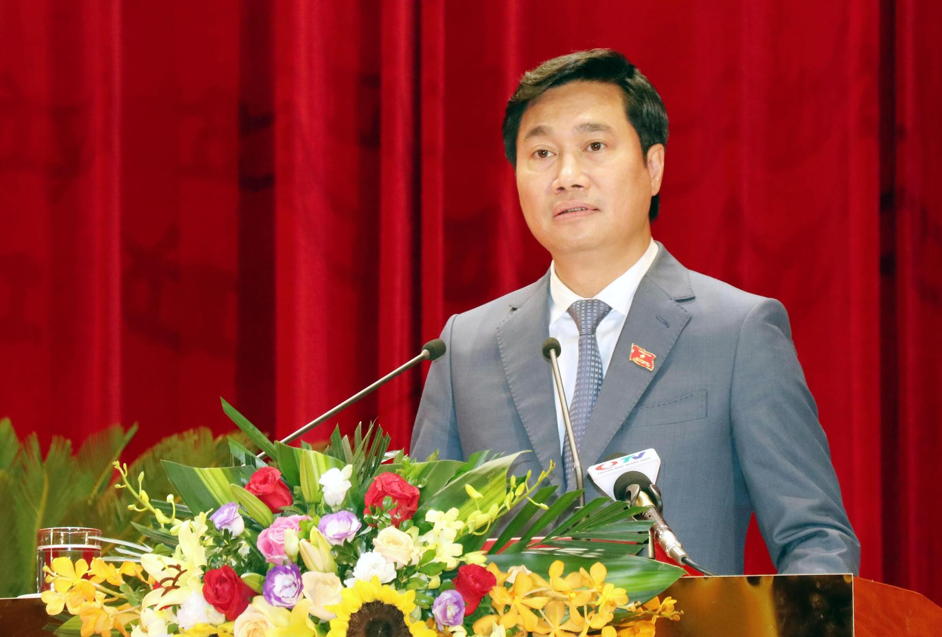 Ông Nguyễn Tường Văn, Chủ tịch Ủy ban Nhân dân tỉnh Quảng Ninh nhiệm kỳ 2021-2026. (Ảnh: Văn Đức/TTXVN)