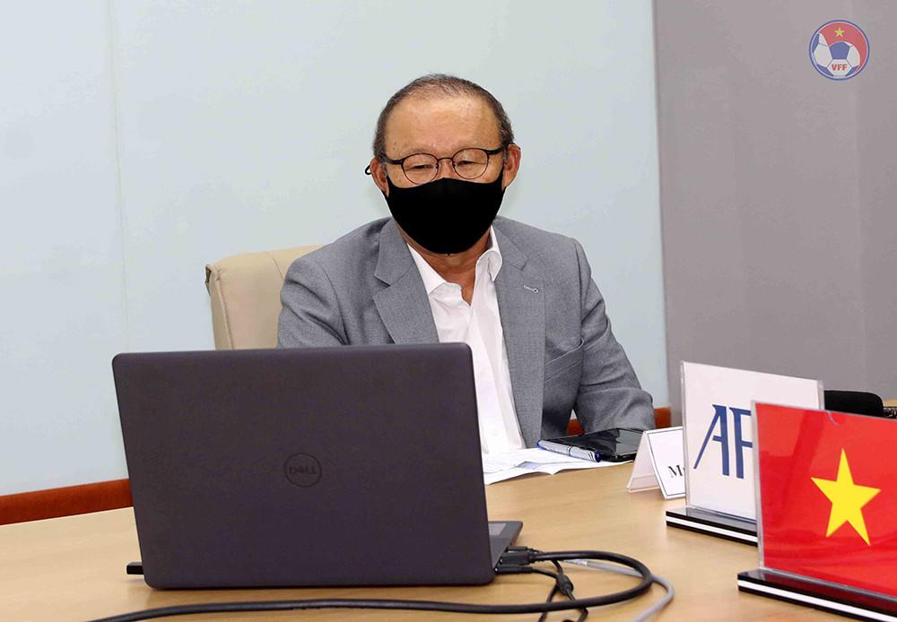 HLV Park Hang Seo: 'Tuyển Việt Nam sẽ khiêm nhường và tận hiến' - 1