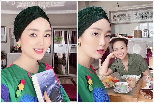 Hoa hậu Giáng My tuổi 50 trẻ đẹp ngỡ ngàng