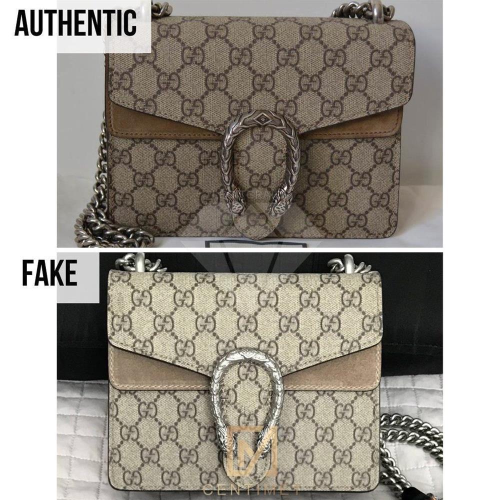 Túi xách, giày dép đến... lược Gucci cũng bị làm nhái bán vài chục nghìn-7