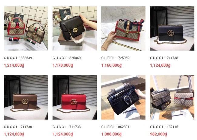 Túi xách, giày dép đến... lược Gucci cũng bị làm nhái bán vài chục nghìn-6