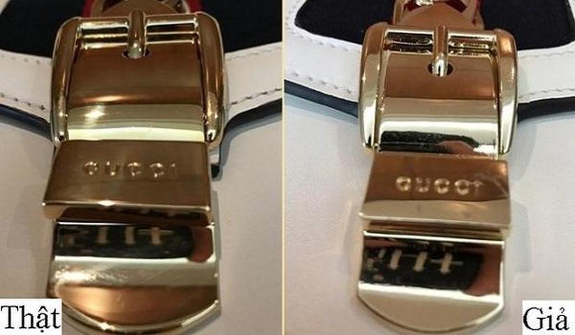 Túi xách, giày dép đến... lược Gucci cũng bị làm nhái bán vài chục nghìn-9