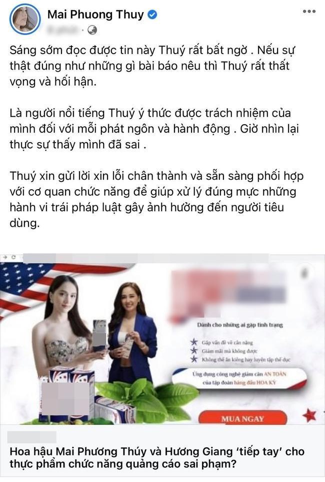 Mai Phương Thúy xin lỗi vì quảng cáo láo, Hương Giang mất dạng như chưa từng-6
