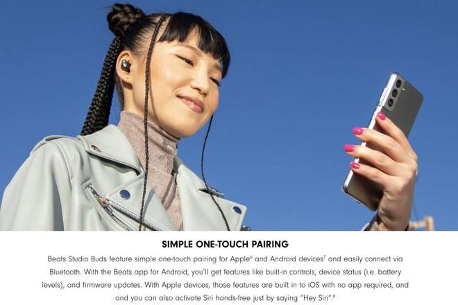 Góc kinh ngạc: Apple sử dụng Samsung Galaxy S21 để quảng cáo tai nghe của mình - Ảnh 2.