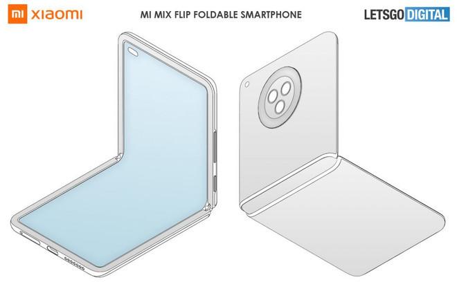 Xiaomi đang phát triển Mi MIX Flip với thiết kế gập vỏ sò, cạnh tranh Galaxy Z Flip? - Ảnh 1.
