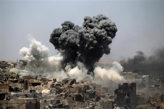 Iran phu nhan tan cong nham vao luc luong My tai Iraq va Syria hinh anh 1