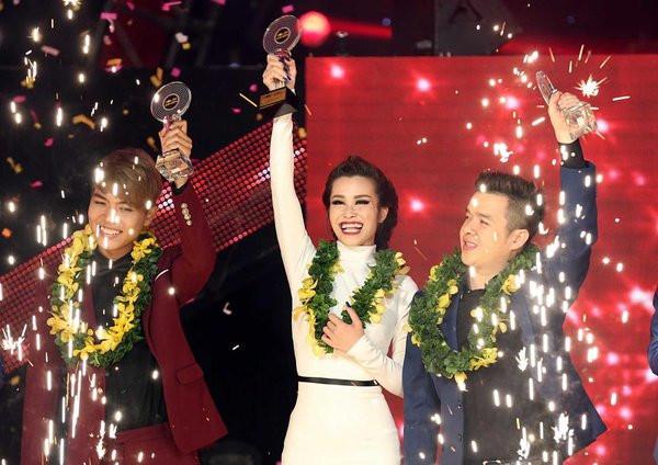 Đông Nhi đăng quang The Remix 2016