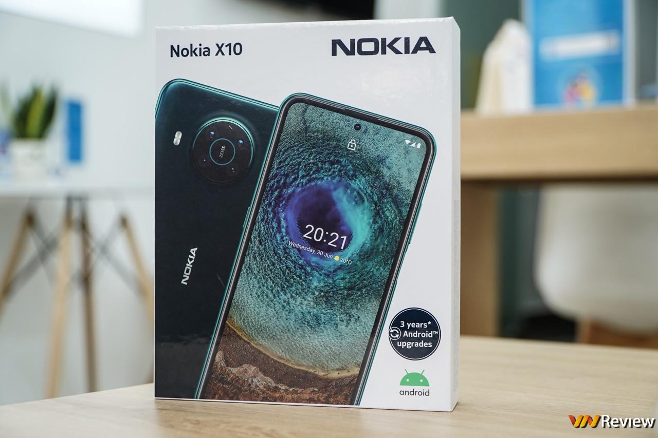 Trên tay Nokia X10: nỗ lực trở lại đường đua 5G